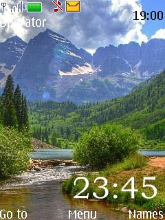 Nature Nokia Theme Mobile Theme