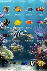 Aquarium Fish Mobile Theme