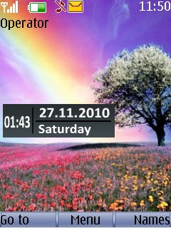 Landscape View Mobile Theme