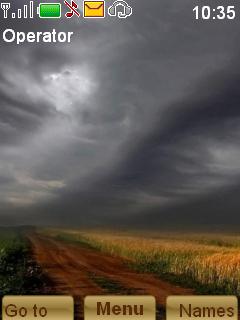 Storm Mobile Theme