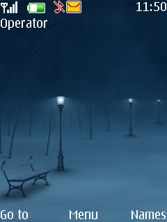 Quiet Night Mobile Theme