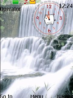 Waterfall Theme Mobile Theme