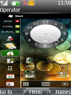 Samsung Style Mobile Theme