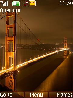 City Bridge Mobile Theme