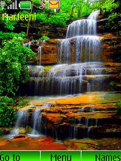 Waterfalls Mobile Theme