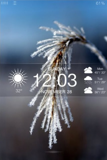 Frost Mobile Theme