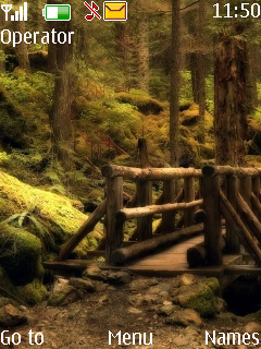 Natural Scene  Mobile Theme