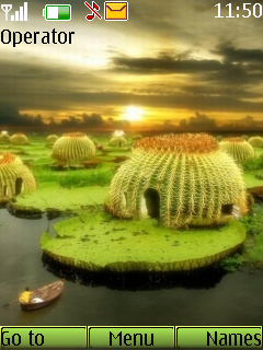 Cactus Pond Mobile Theme
