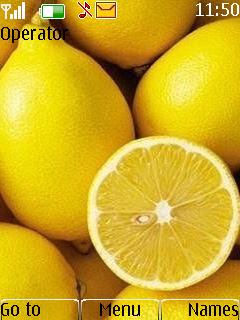 Cut Lemon Mobile Theme
