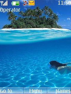 Maldives Mobile Theme