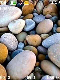 Rocks Mobile Theme