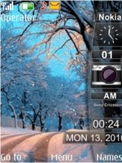 Winter Sidebar Mobile Theme