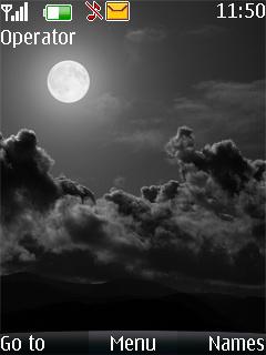 Moon And Dark Mobile Theme