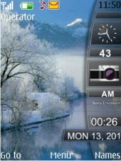 Winter Mobile Theme