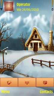 Snow House Mobile Theme