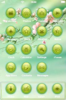 Spring Mobile Theme