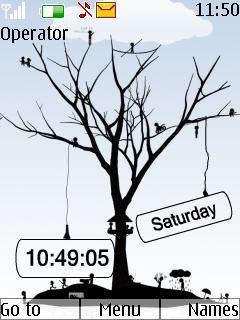 Time  Mobile Theme