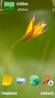 Nature Beauty Mobile Theme