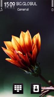 Flower Lite Mobile Theme