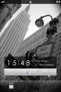 Danael M9 Lockscreen Weather Mobile Theme