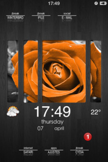 DBar Photo HD Mobile Theme