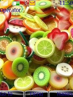Fruits Mobile Theme