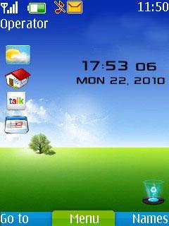 Desktop Style Mobile Theme