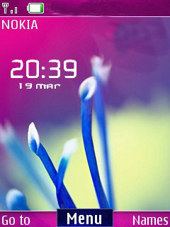 Android Nature Mobile Theme