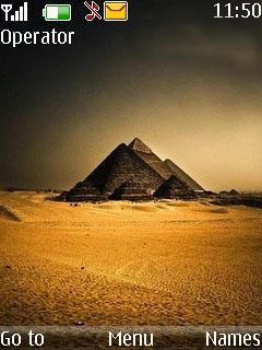 Royal Pyramids  Mobile Theme