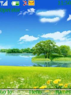 Beautiful Nature Mobile Theme