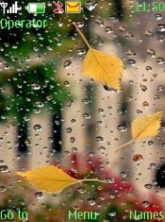 Rain With Tone Mobile Theme