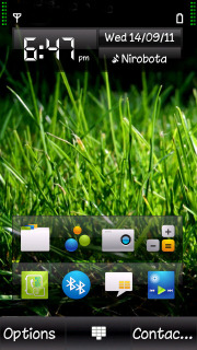 Grass Mobile Theme