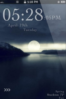 Moonlight LS IPhone Theme Mobile Theme