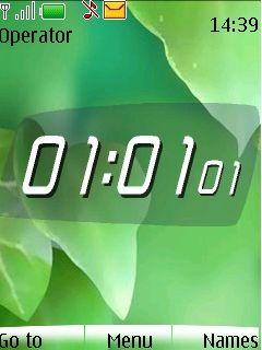 List Clock Mobile Theme