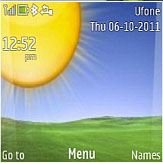 Garden View Live Mobile Theme