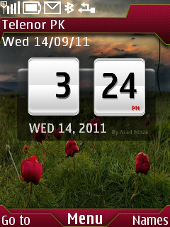 Nature Sense Mobile Theme