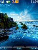 Ocean Waves Mobile Theme