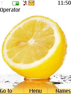 Fresh Lemon Mobile Theme
