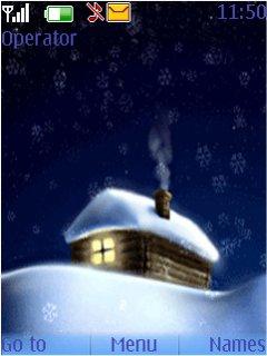 Snow Home Mobile Theme