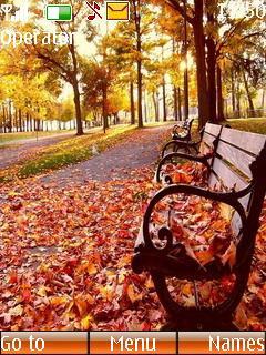 Autumn Chair Mobile Theme