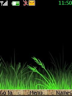 Grass Mobile Theme