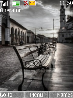Silent Street Mobile Theme