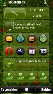 Foliage Mobile Theme