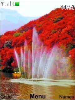 Natural Fountain Mobile Theme