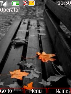 Leaves Mobile Theme