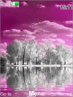 Purple Lake Mobile Theme