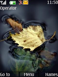 Autumn Leaf Mobile Theme