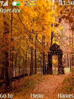Beautiful Autumn Mobile Theme