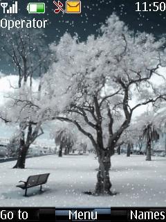 Winter Trees Mobile Theme