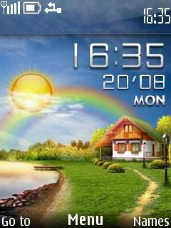 Download Live Village Nokia Theme | Mobile Toones